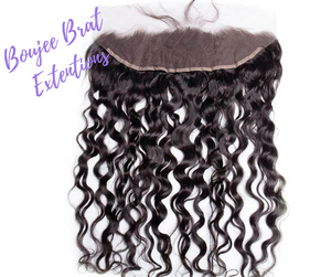 13x4 Lace Frontal Water Wave