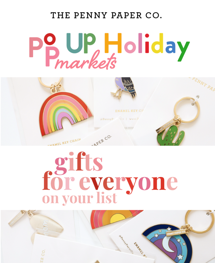 POP UP HOLIDAY MARKETS this week