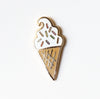 Soft Serve Ice Cream, Enamel Pin