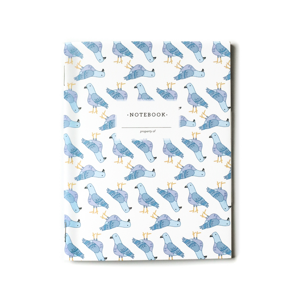 NEW! Pigeons, Mini Notebook