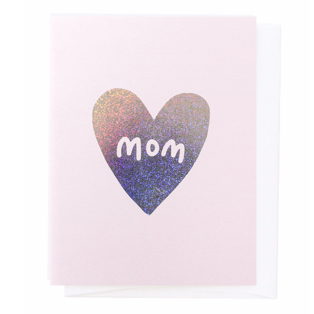 Mom, Sparkle Greeting Card