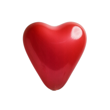 Red Heart Balloons (Set of 10)