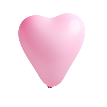 Pink Heart Balloons (Set of 10)