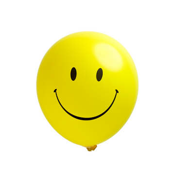 Happy Face Balloons (Set of 10)