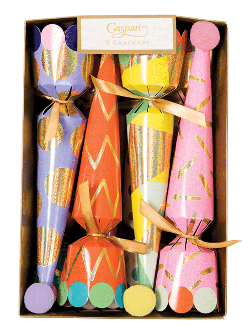 Party Hats Cone Crackers-10 Inch/8in (Box of 8)