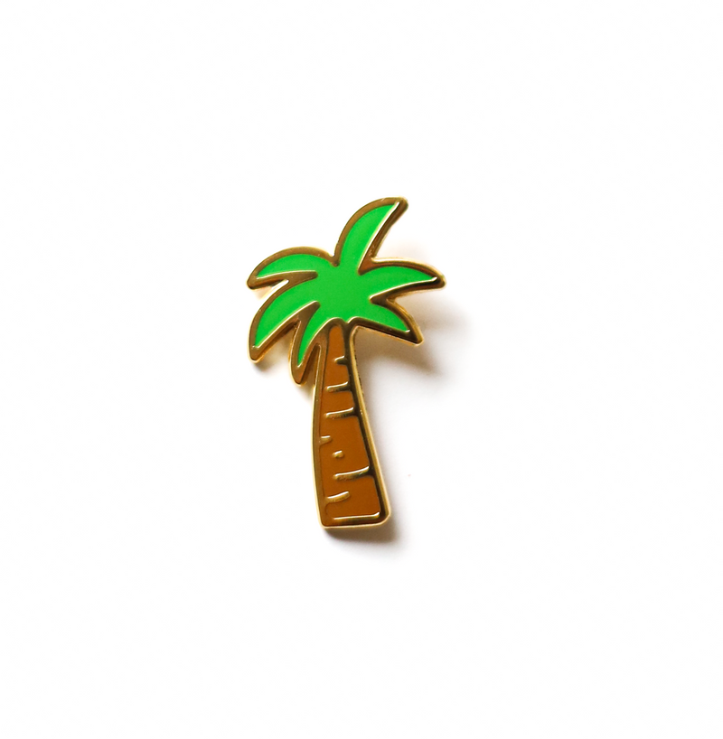 *NEW!* Palm Tree Enamel Pin