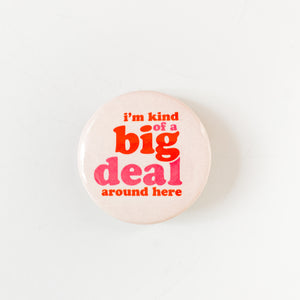 "Retro Big Deal, 1.5"" Button"