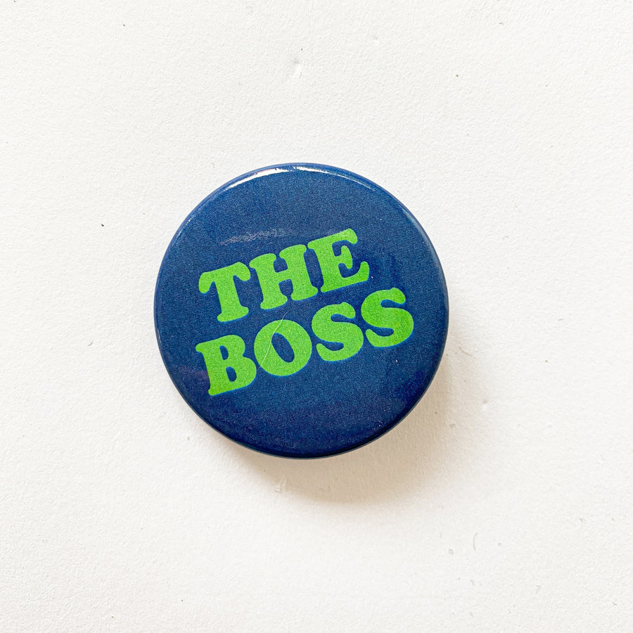 The Boss, Blue + Green Button