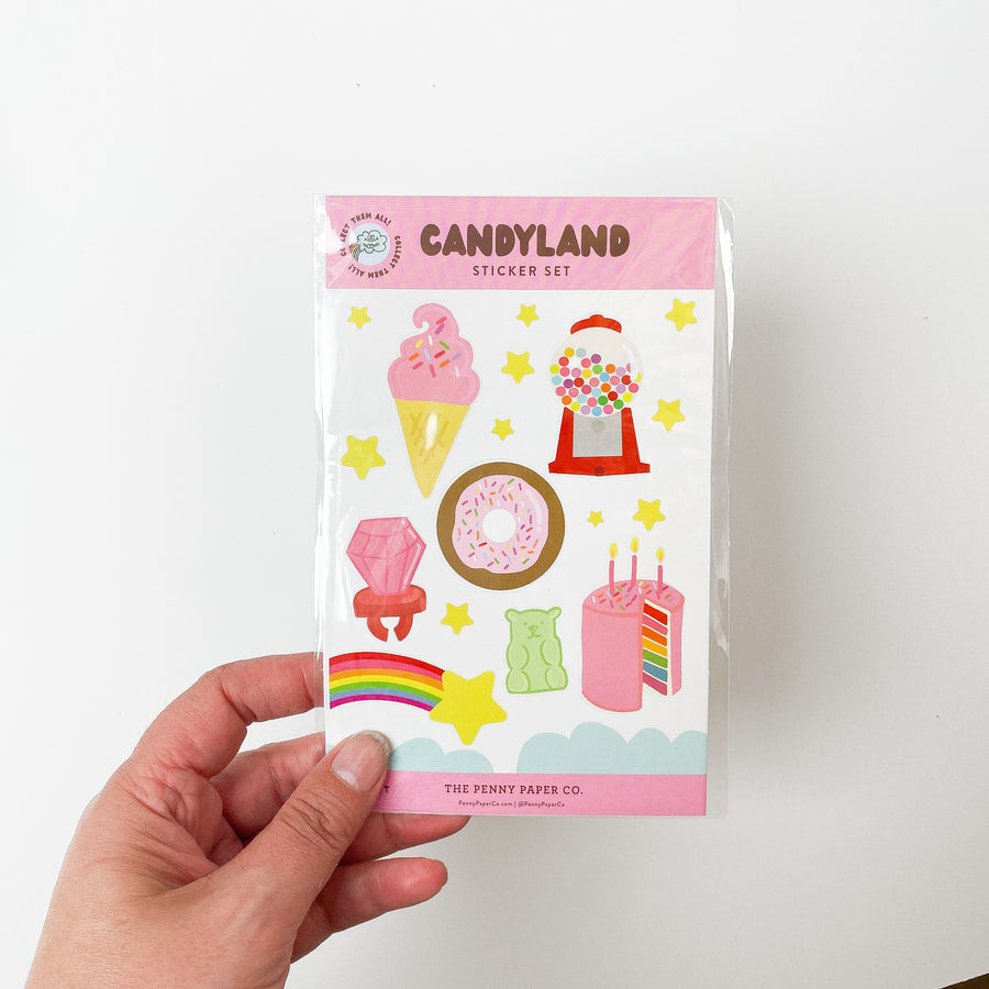 Candyland Sticker Sheet