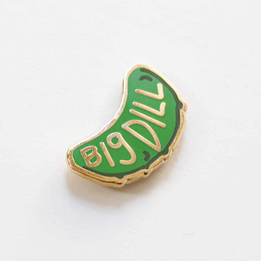 Big Dill, Enamel Pin