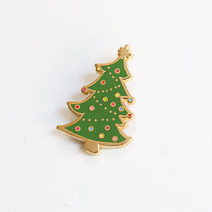 Christmas Tree, Enamel Pin