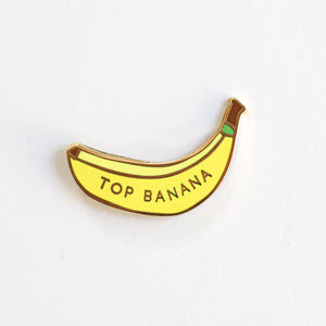 Top Banana, Enamel Pin