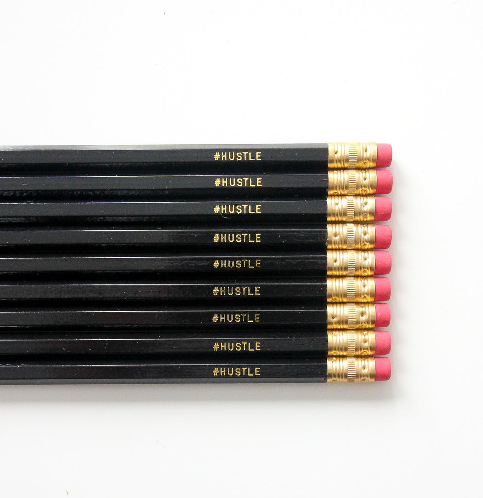 Hustle, Pencil Set (Black)