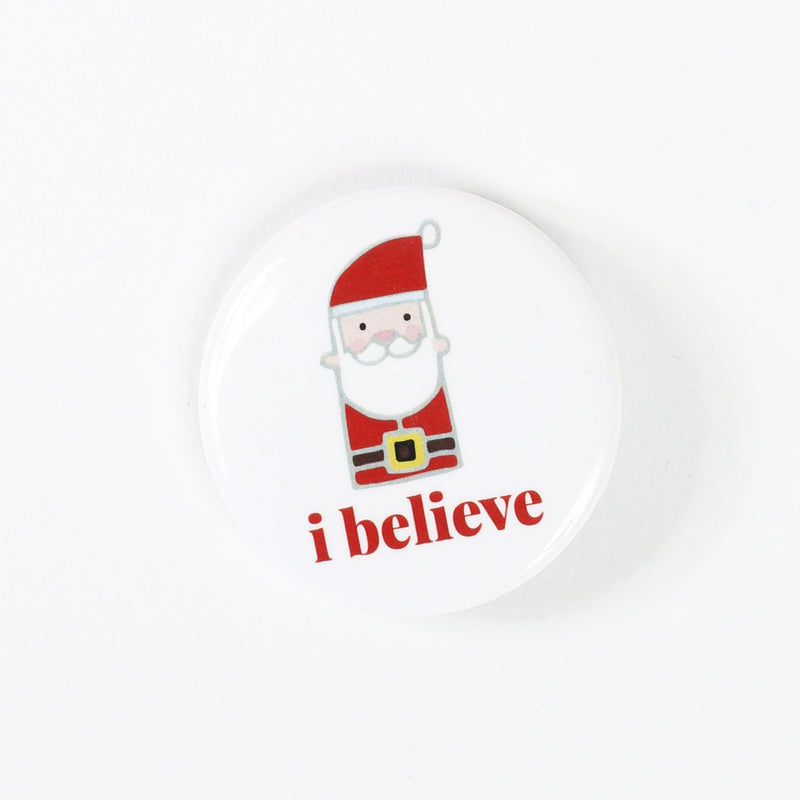 I Believe, Santa Button