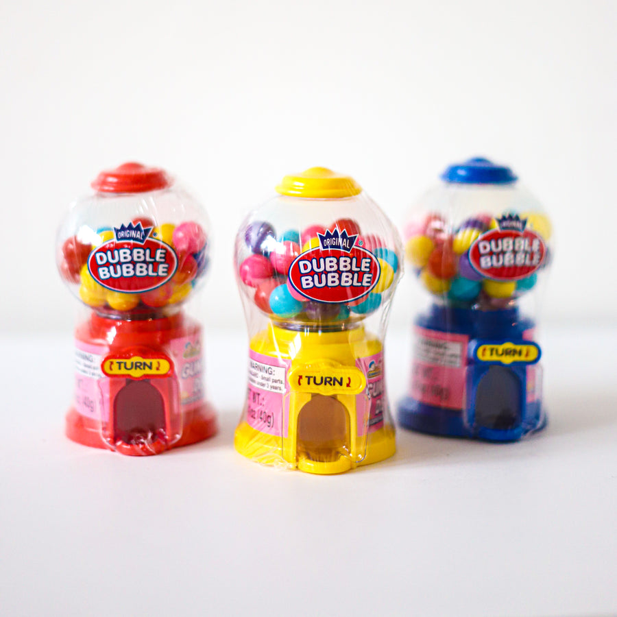 Mini Bubble Gum Machine