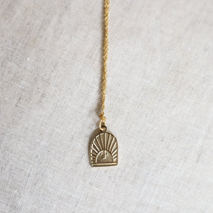 NEW - Rising Sun Necklace