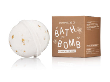 NEW! Oatmeal Milk + Honey Bath Bomb