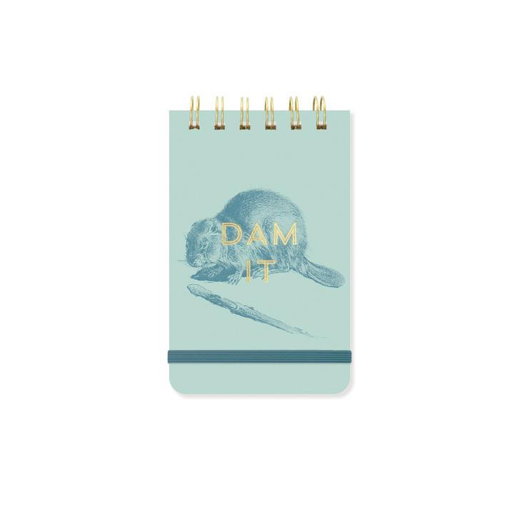 VINTAGE SASS WIRE-BOUND PURSE NOTES | DAM IT