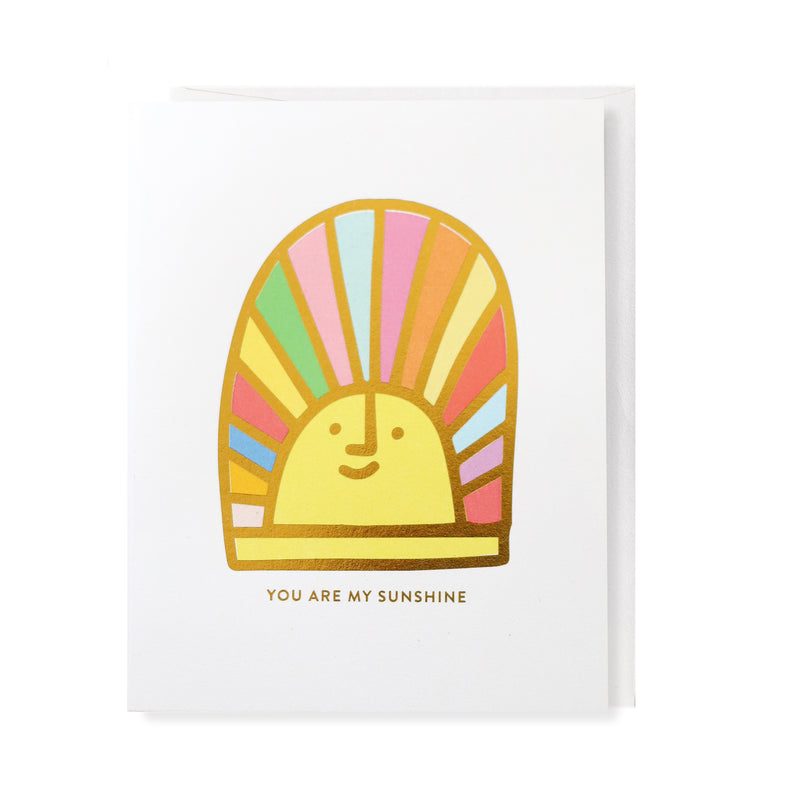 You Are My Sunshine, Greeting Card