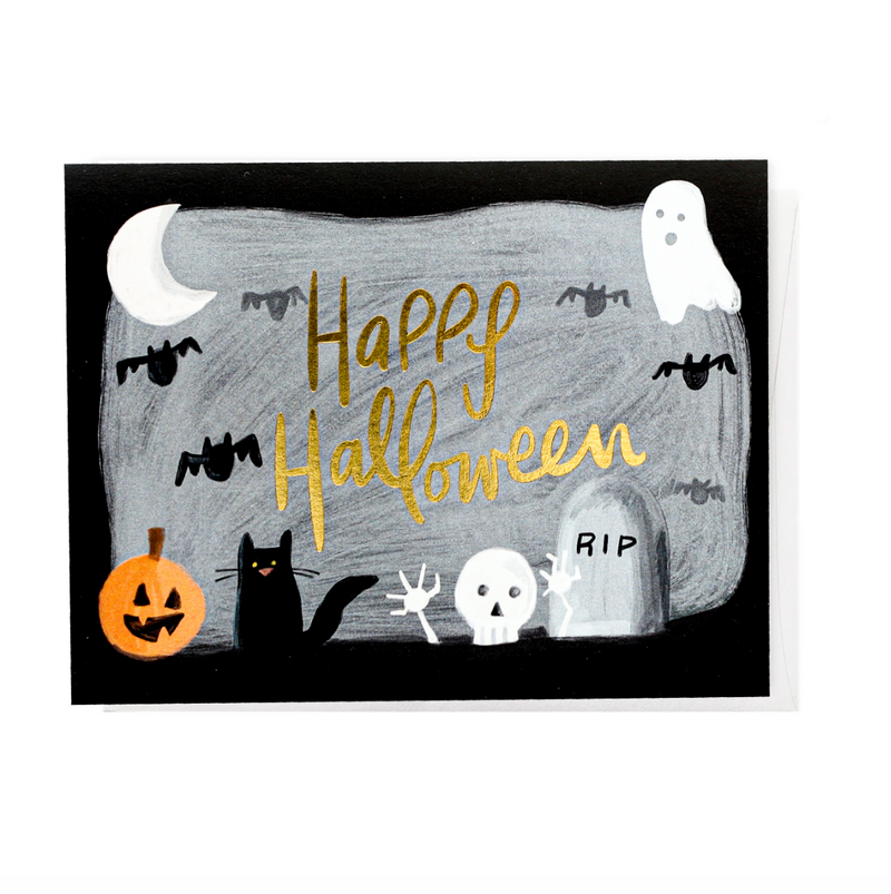 Happy Halloween, Greeting Card