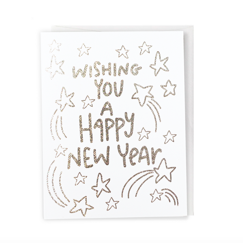 Happy New Year, Greeting Card