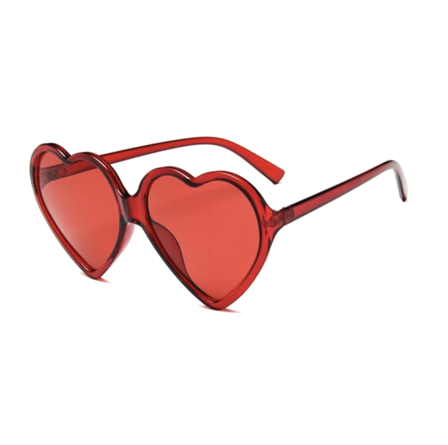 Heart Sunglasses (Red)