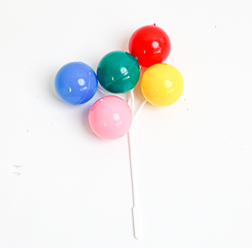 Balloon Picks - Primary Colours 7