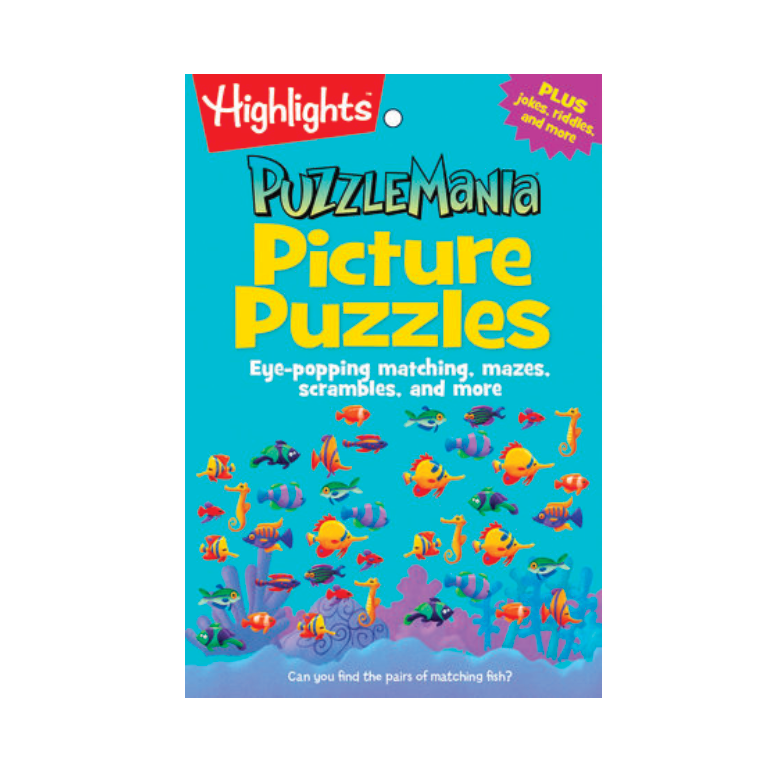 Picture Puzzles (6-9 years)