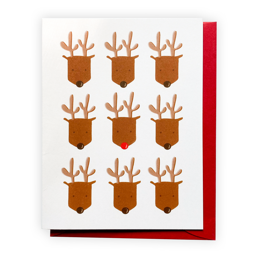 Rudolph, Greeting Card