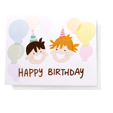 Kids Birthday, Greeting Card