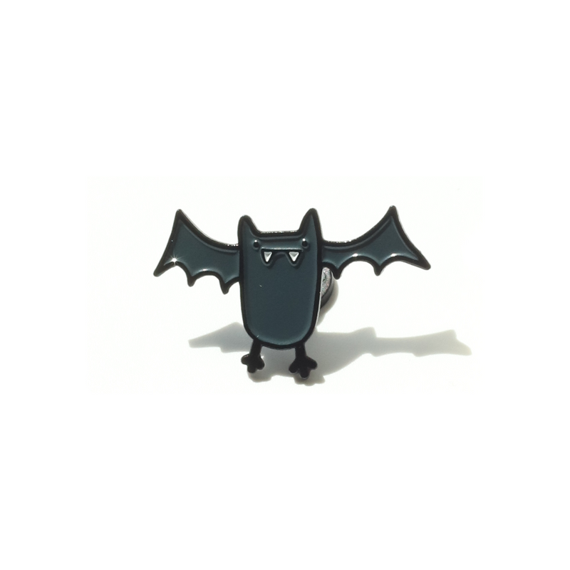 Bat, Enamel Pin