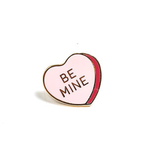 Be Mine, Candy Heart Enamel Pin