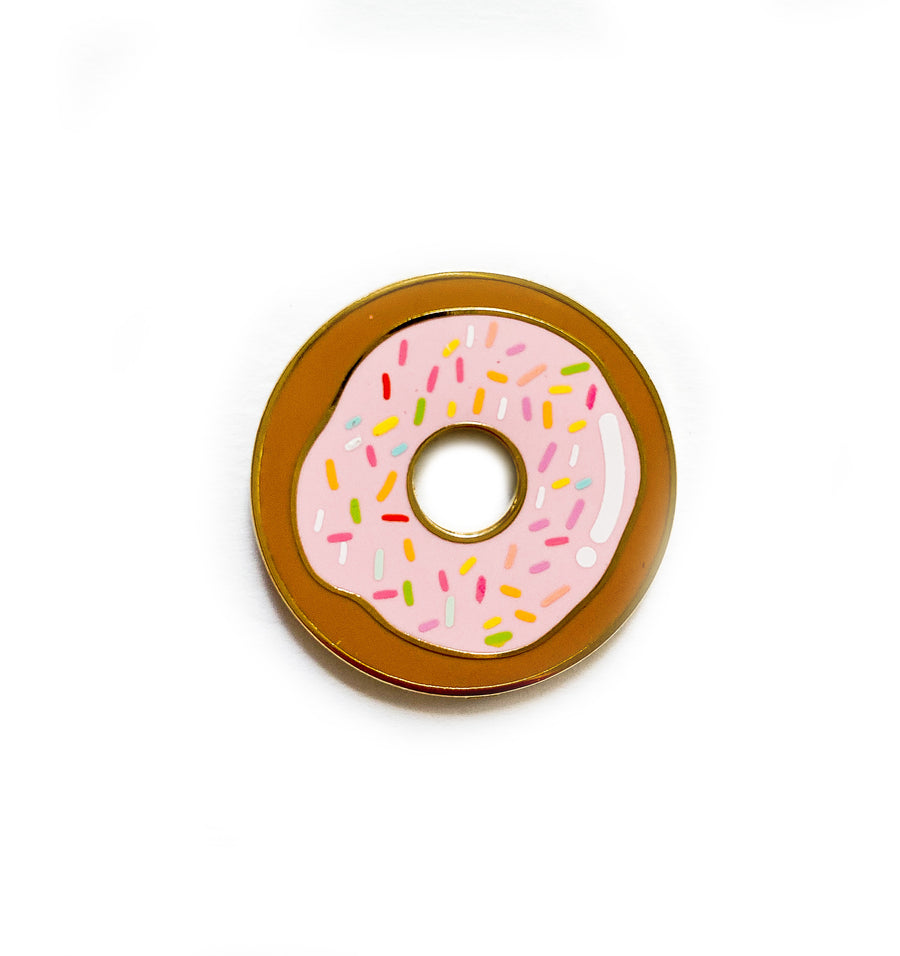 NEW! Donut Enamel Pin