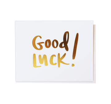 Good Luck!, Greeting Card