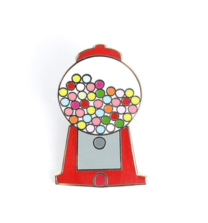 Gumball Machine, Enamel Pin