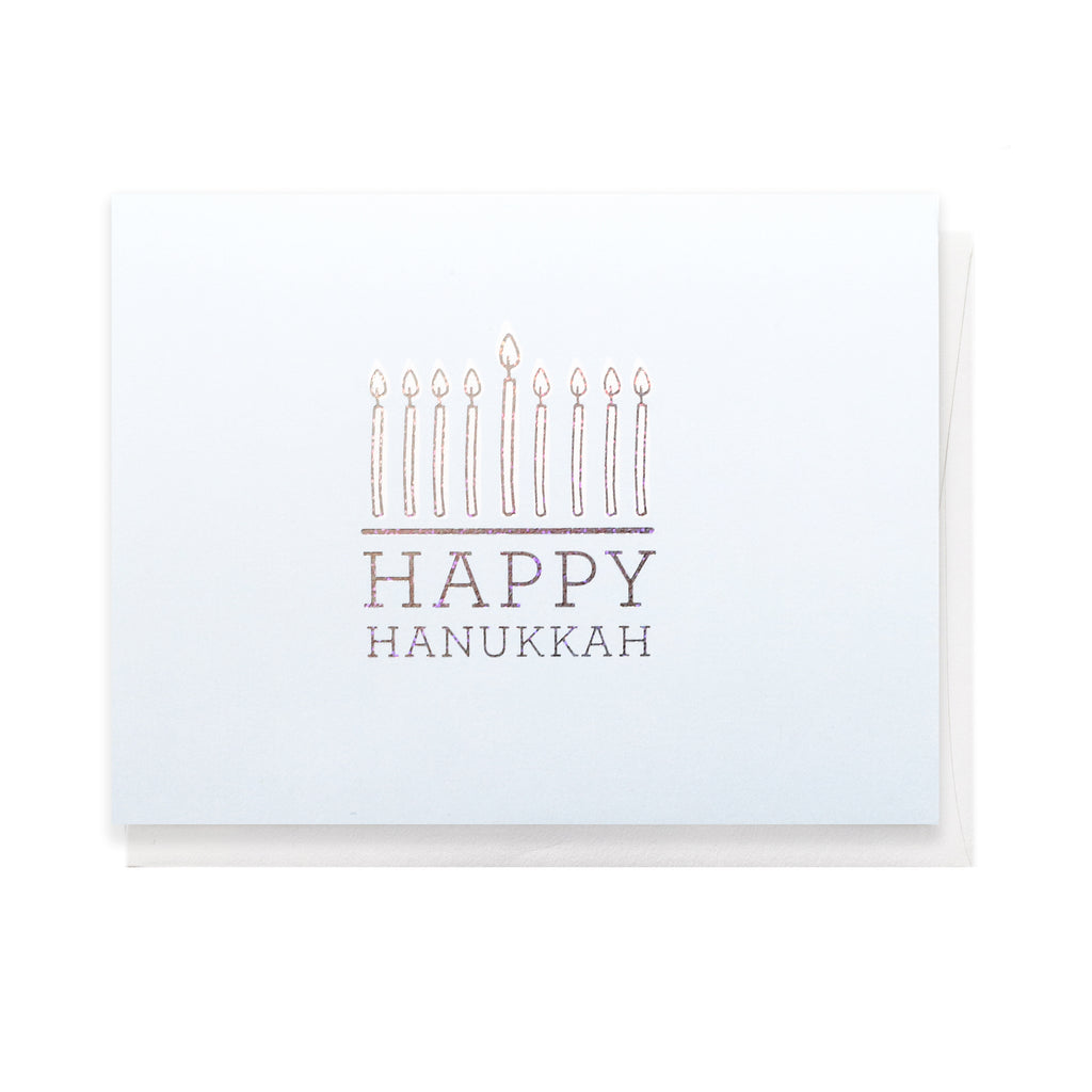 Happy Hanukkah, Greeting Card