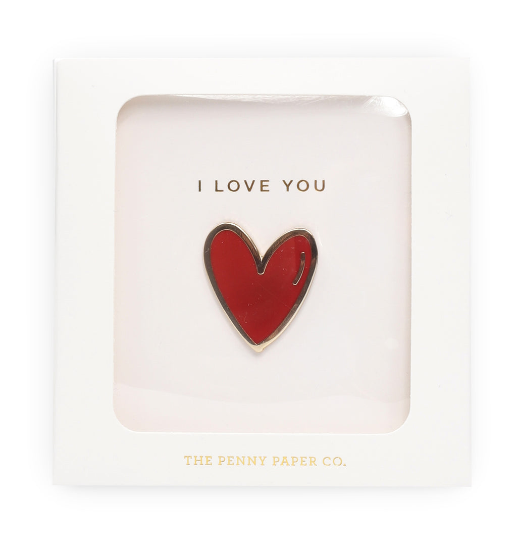 I Love You, Enamel Pin Gift Set