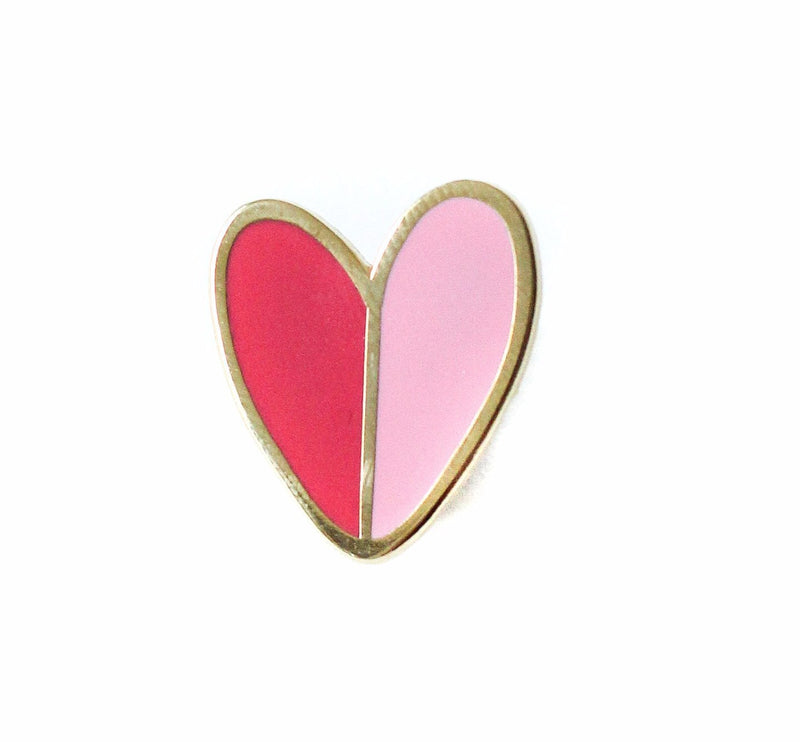 Mod Heart No. 1, Enamel Pin