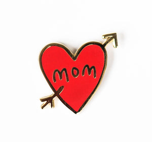 Mom Tattoo, Enamel Pin