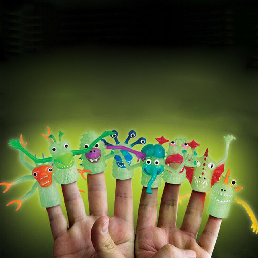 Set of 4 Glow in Dark the Monsters (NEW!)