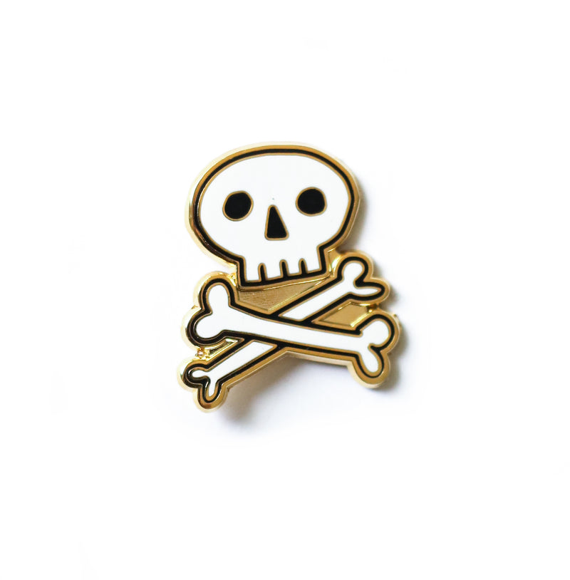 NEW Skull & Crossbones, Enamel Pin
