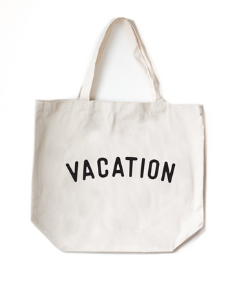 Vacation, Tote Bag
