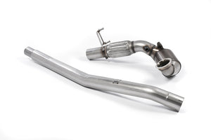 Milltek Exhaust Audi TT Mk3 TTS 2.0TFSI Quattro Large-bore Downpipe and De-cat Must be fitted with a OE Exhaust system Only