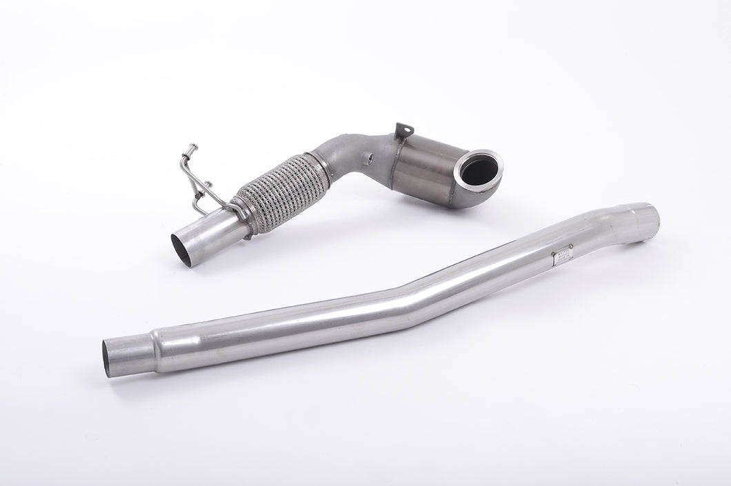Milltek Exhaust Audi TT Mk3 TTS 2.0TFSI Quattro  Large Bore Downpipe and Hi-Flow Sports Cat Must be fitted with OE Exhaust system only.