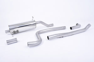 Milltek Exhaust Ford Fiesta Mk8 1.0T EcoBoost ST-Line 3 & 5 Door (Non-OPF/GPF Models Only)  Cat-back Road + Cat Back with GT-90 Titanium Trim