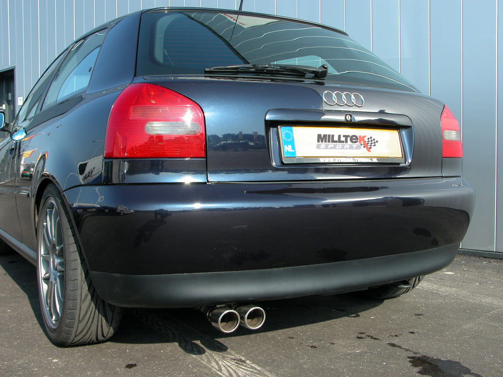 Milltek Exhaust Audi A3 1.9 TDI 90 / 100 / 110 / 130 BHP Cat Back Resonated (quieter)