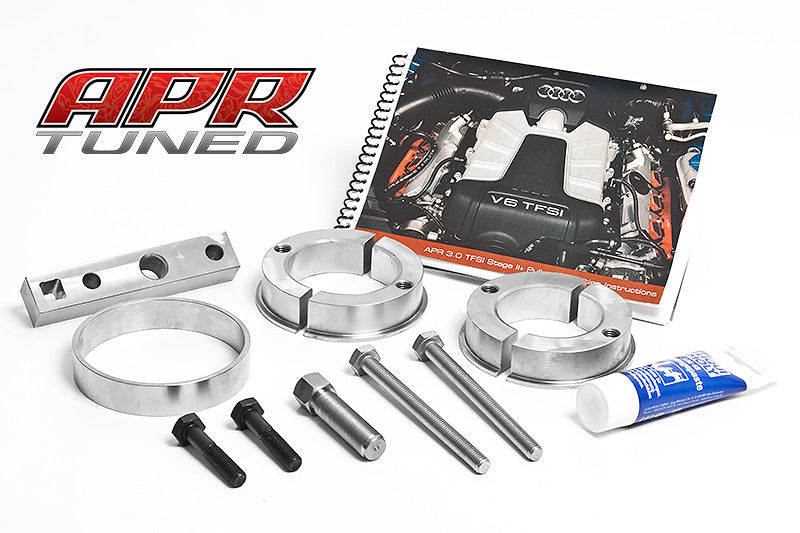 APR Stage 2+ Supercharger Pulley Install Kit - Audi S4 3.0TFSI