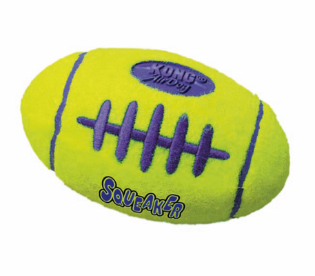 Kong Air Squeaker Football Dog Toy