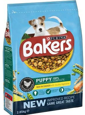 Bakers Puppy Chicken & Veg Dry Dog Food