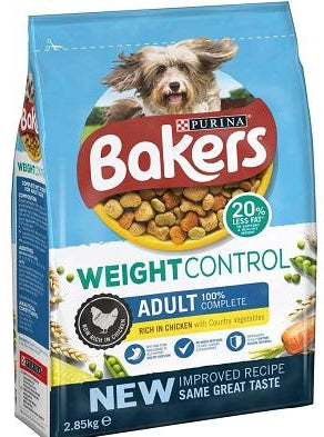 Bakers Complete Weight Control with Chicken & Veg Dry Dog Food